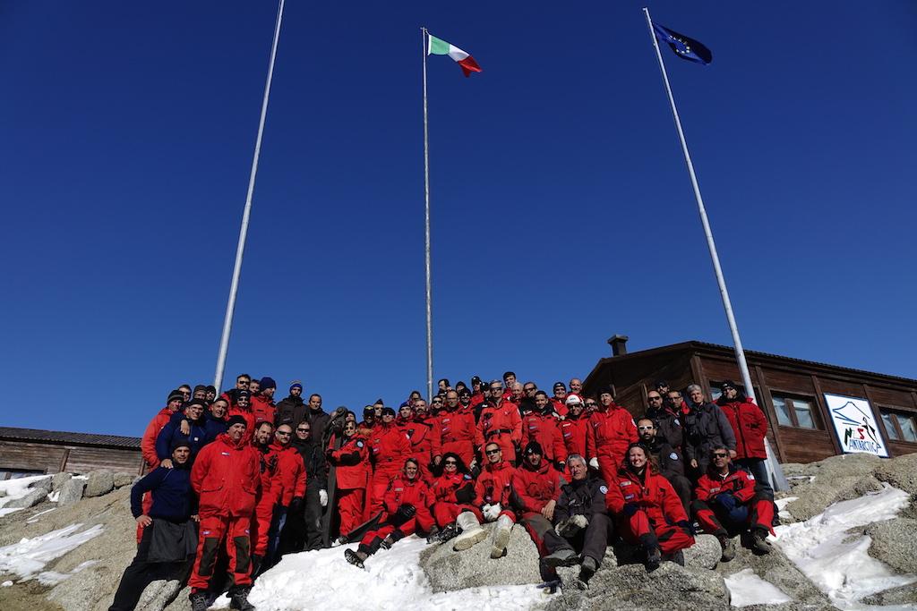 La XXX Spedizione Italiana in Antartide. Foto Roberto Palozzi, Copyright PNRA