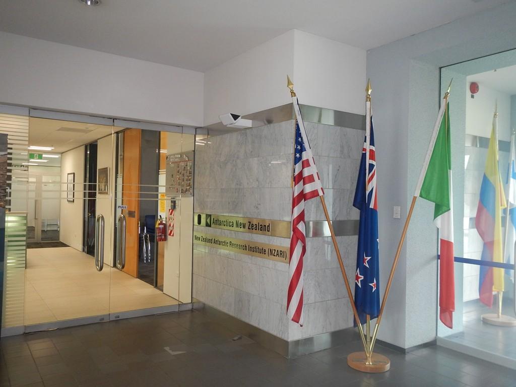 Interno dell'International Antarctic Center
