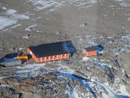 Base tedesca di Gondwana. Copyright PNRA.