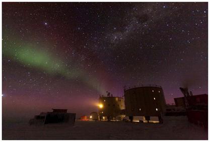 Come dare torto a Daniele? Lo spettacolo del cielo stellato che offre Concordia è una meraviglia. Copyright PNRA: