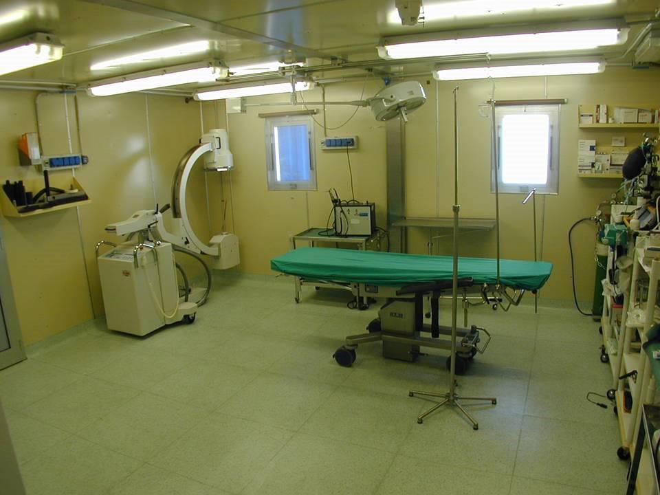 La sala chirurgica di MZS. Copyright PNRA.