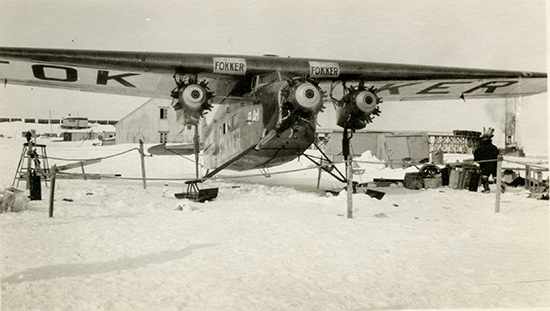 Foto proveniente dal Byrd Polar and Climate Research Center Archival Program.