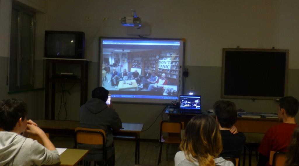 Gli studenti di Albareto In videocollegamento con il luogo più lontano al mondo .... prossimo passo: il collegamento con lo spazio!