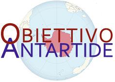 Il logo del sito della spedizione italiana in Antartide