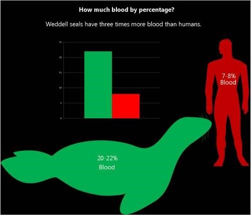 Percentuale di volume corporeo costituito dal sangue.